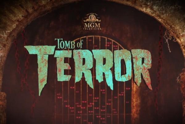 mgm tomb of terror logo