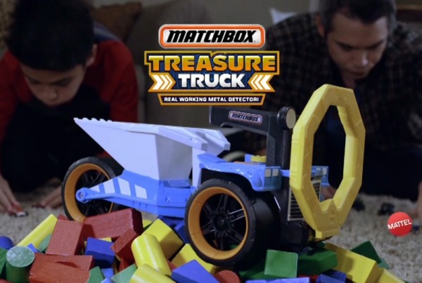 matchbox treasure truck logo
