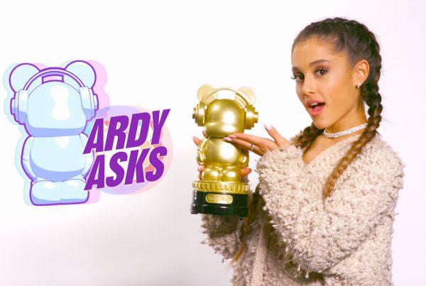 Radio Disney Ardy Asks Ariana Grande
